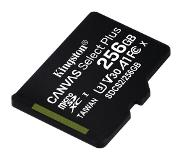 Kingston Canvas Select Plus microSD Card 10 UHS-I - 256GB - inclusief SD adapter