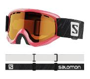 Salomon Juke Access Sneeuwbril - Oogbescherming & Diepteperceptie - Perfect Fit - Pink/Tonic Orange