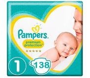 Pampers Premium Protection Maat 1 - 138 Luiers