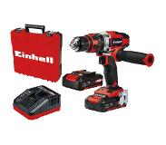 Einhell Power X-Change TE-CD 18/48 Li-i (2x2,0Ah) Accu-klopboor/schroefmachine 4513935 Power X-Change TE-CD 18/48 Li-i (2x2,0Ah) 18 V 2000 mAh Li-ion Incl. 2