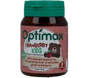 Optimax Kinder Cranberry Vanaf 1 Jaar - Voedingssupplement - 60 kauwtabletten