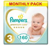 Pampers Premium Care Maat 3 - 160 luiers Maandbox