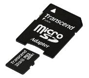 Transcend Micro SD 32GB classe 10 met adapter