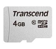 Transcend 4GB microSD without Adapter Class10