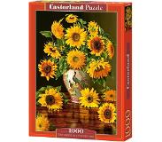 Castorland Sunflowers in a Peacock Vase - 1000 stukjes