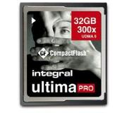Integral 32GB Compact Flash Geheugenkaart UltimaPro 300x