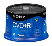 Sony DVD+R 16x, 50 4,7 GB 50 stuk(s)