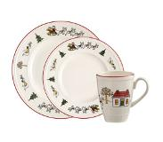 Wedgwood Windsor Christmas serviesset - 12-delig