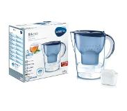 Brita Marella XL Waterfilter in kan 3.5l Blauw, Transparant