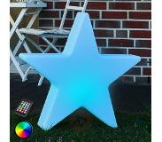 8 seasons Decoratieve LED-ster Shining Star 80 cm