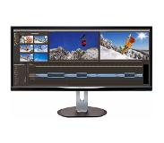 Philips Brilliance Ultrabrede LCD-monitor met MultiView BDM3470UP/00