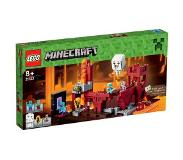 LEGO Minecraft 21122 Nether-linnake