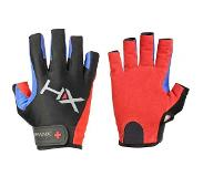 Harbinger Men's X3 Competition Open Finger Crossfit Fitness Handschoenen Red/Blue/Black - S
