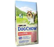 Dog chow Adult Sensitive hondenvoer 14 kg
