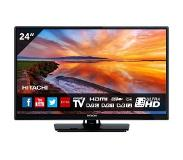 Hitachi 24HB4T65 HD Ready Smart tv Zwart