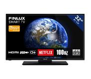 Finlux FL3225FSMART Full HD Smart LED tv Zwart