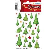 Herma 15233 Stickers kerstbomen, silk