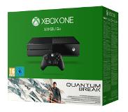 Microsoft Xbox One Sony 500GB Black + Quantum Break