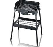 Severin PG8532 Barbecue-Grill with stand and rack black