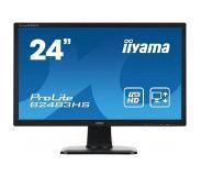 "Iiyama ProLite B2483HS-B1 24"" Zwart Full HD PC-flat panel"