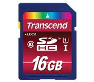 Transcend 16GB SDHC Class 10 UHS-I