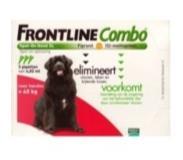 Frontline Combo hond XL >40kg bestrijding vlo en teek 3stuks