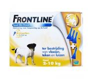 Frontline Spot on hond Small 4 pipetten