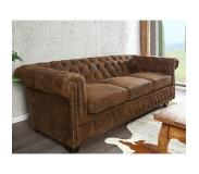4uDesigned Vintage Design Sofa Chesterfield 3-zits Vintage