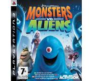 Games Toiminta - Monsters vs Aliens (PS3)