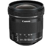 Canon EF-S 10-18 f/4.5-5.6 IS STM Ultra-wide lens Musta