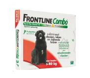 Frontline combo dog XL 40-60 kg - 4 (plus 2 gratis) pipetten