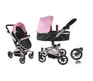Bandits & Angels Bandits and Angels Black Angel 2in1 softpink poppenwagen