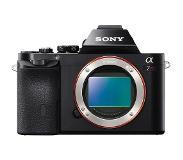 Sony Pelkkä α7R-kameran täysikokoisella kennolla varustettu ILC-runko (ei objektiivia)
