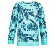 We fashion bloemen sweater Turquoise 134/140