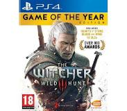 Games Namco Bandai Games - The Witcher 3: Wild Hunt Game of the Year Edition, PS4 PlayStation 4 jeu vidéo