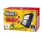 Nintendo 2DS Musta/Sininen + New Super Mario Bros. 2
