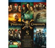 Buena Vista Pirates of The Caribbean 1-5 Blu-ray