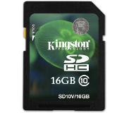 Kingston Technology 16GB SDHC UHS-I Card