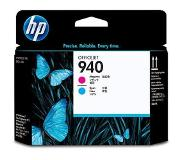 HP 940 magenta en cyaan Officejet printkop