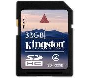 Kingston Technology 32GB SDHC Card