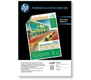 HP Professional Laser Photo Paper, glanzend, 200 gr/m², 100 vel, A4/210 x 297 mm