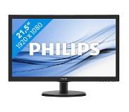 """Philips 223V5LHSB2 LCD/TFT 21.5"""" Zwart Full HD"""