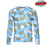 BANANZAA Sweater met bananenprint - XL