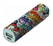 Trust 2600 mAh Powerbank 1 USB-poort(en) Urban Revolt Powerstick Graffiti Objects