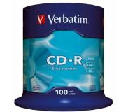 Verbatim CD-R Extra Protection CD-R 700MB 100stuk(s)