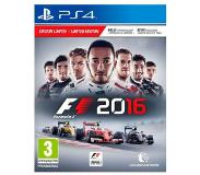 Namco F1 2016 Limited Edition PS4