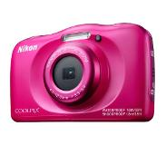 Nikon Digital camera Nikon 13.2 MPix Optical zoom: 3 x Pink Full HD Video, Underwater camera, Shockproof, Wi-Fi