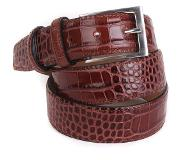 Suitable Croco Riem Bruin Leer 42-04