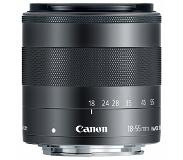 Canon EF-M 18-55mm f/3.5-5.6 IS STM Groothoekzoomlens Zwart