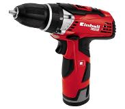 Einhell TE-CD 12 Li Boormachine met pistoolgreep Lithium-Ion (Li-Ion) 1.3Ah 1000g